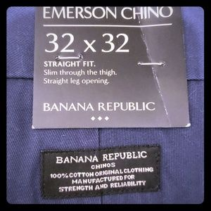 Banana Republic Emerson Chinos navy blue